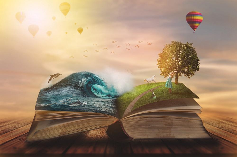 Un libro di fantasia per la giornata mondiale del libro